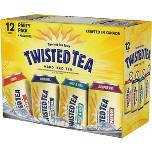 DO NOT USE Twisted Tea Mixed Pack 12 C