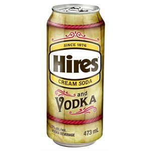 Hires Cream Soda & Vodka 473ml