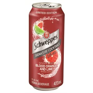 Schweppes Blood Orange & Lime Cocktail 473ml