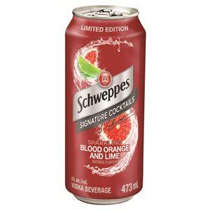 Schweppes Blood Orange & Lime Cocktail 473ml