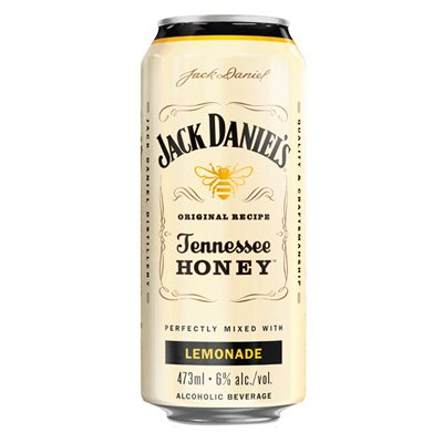 Jack Daniels Tennessee Honey Lemonade 473ml