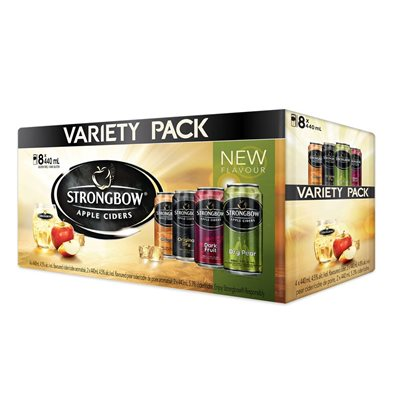 Strongbow Variety Pack 8 C