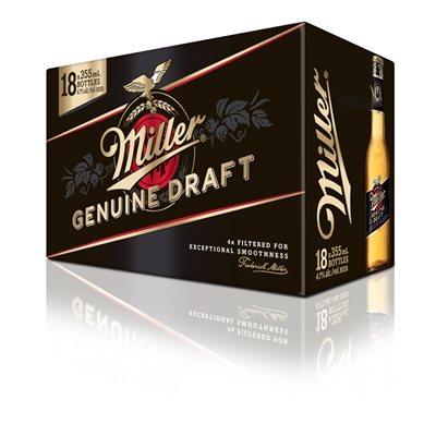 Miller Genuine Draft 18 B