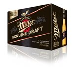 Miller Genuine Draft 18 B