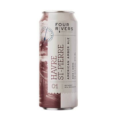 Four Rivers Havre St Pierre Amber Ale 473ml