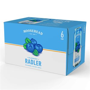 Moosehead Radler Blueberry 6 C