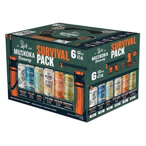 Muskoka Summer Survival Pack 6 C