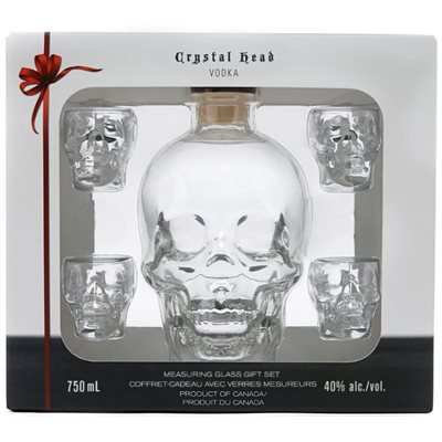 Crystal Head Vodka Gift Pack 750ml