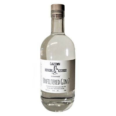 Gagetown Distilling & Cidery Unfiltered Gin 7 750ml