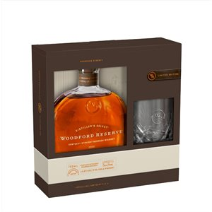 Woodford Reserve With Rocks Glass 750ml