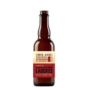 Big Axe Lumberjack Lager 375ml