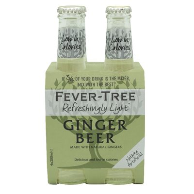 Fever-Tree Ginger Beer 4 x 200ml