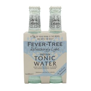 Fever-Tree Indian Tonic Water 4 x 200ml