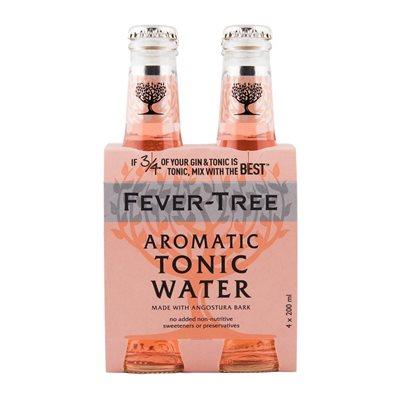 Fever-Tree Aromatic Tonic Water 4 x 200ml