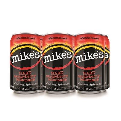 Mikes Hard Strawberry Lemonade 6 C