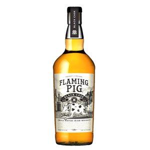 Flaming Pig Black Cask Irish Whiskey 700ml