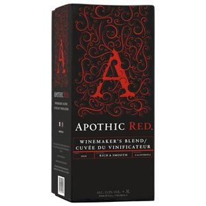 Apothic Red Blend Box 3000ml