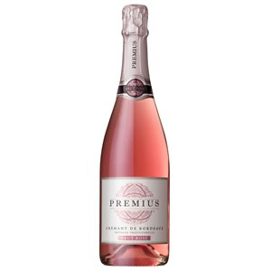 Premius Cremant De Bordeaux Brut Rose 750ml