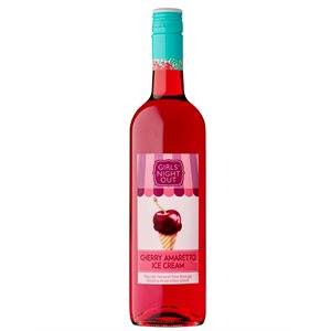 Girls Night Out Cherry Amaretto Ice Cream 750ml