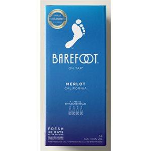 Barefoot Merlot 3000ml