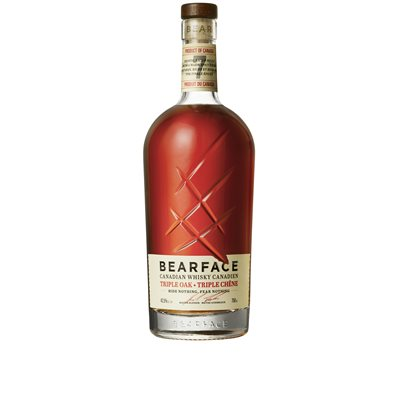 Bearface Triple Oak Canadian 7 YO 750ml