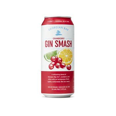 Georgian Bay Cranberry Gin Smash 473ml