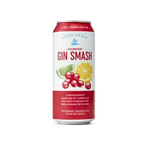 Georgian Bay Cranberry Gin Smash 473ml