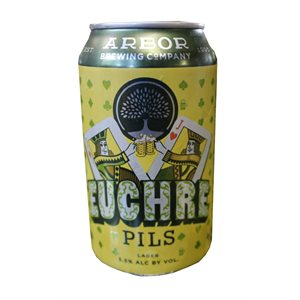 Arbor Brewing Euchre Pils 355ml