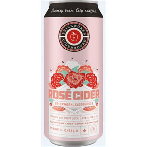 Brickworks Rose Cider 473ml