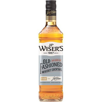 JP Wisers Old Fashioned Canadian Whisky 750ml