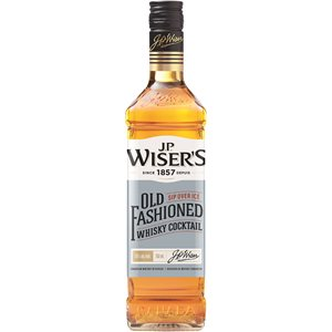 JP Wisers Old Fashioned Canadian Whisky Cocktail 750ml