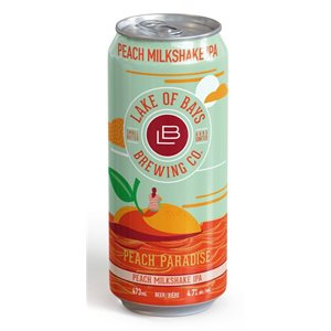 Lake Of Bays Peach Paradise Milkshake IPA 473ml