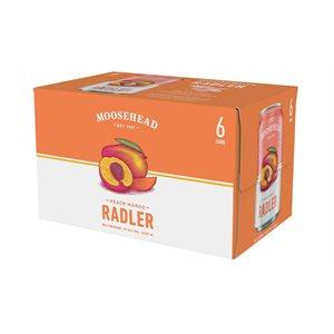 Moosehead Radler Peach Mango 6 C