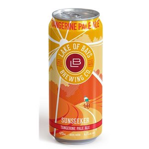 Lake Of Bays Sunseeker Tangerine Pale Ale 473ml