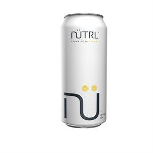 Nutrl Vodka Soda Lemon 473ml