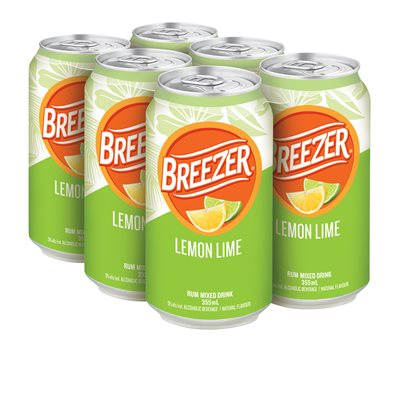 Breezer Lemon Lime 6 C
