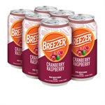 Breezer Cranberry Raspberry 6 C