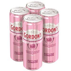 Gordons Pink Gin & Tonic 4 C