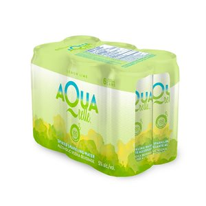 Aquarelle Lemon Lime Sparkling Water 6 C