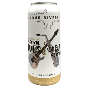 Four Rivers Blues D'La Baie Belgian Blonde 473ml