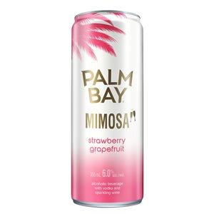 Palm Bay Mimosa Strawberry Grapefruit 355ml