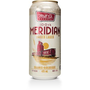 Mill Street 100th Meridian Organic Amber Lager 473ml