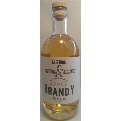 Gagetown Distilling & Cidery Apple Brandy 375ml