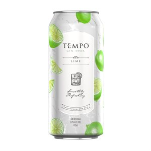 Tempo Gin Soda 473ml