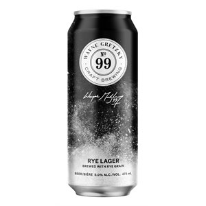 Wayne Gretzky Craft Brewing No 99 Rye Lager 473ml