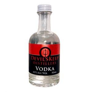 Devils Keep Handcrafted Vodka 50ml