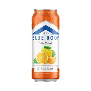 Blue Roof Gin Soda Citrus Blast 473ml