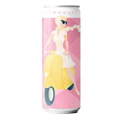 Venerdi Pink Lemonade Italian Style Seltzer 4 C