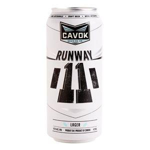 Cavok Brewing Runway 11 Lager 473ml