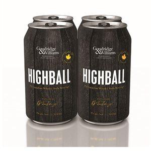 Highball Whisky Soda 4 C